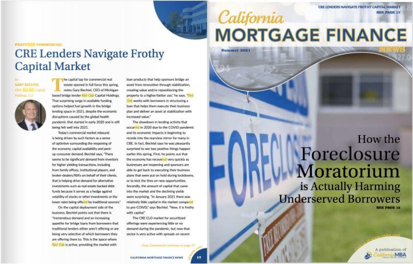 California Mortgage Finance News Summer 2021